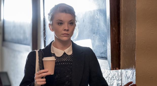 Tough role: Natalie Dormer plays a blind woman in In Darkness which she co-wrote