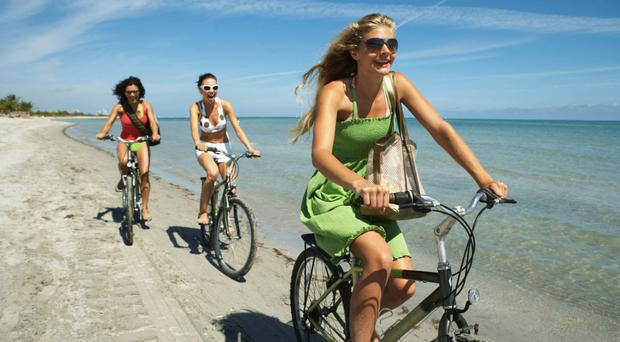 Wheely good: cycling outdoors burns calories and increases stamina