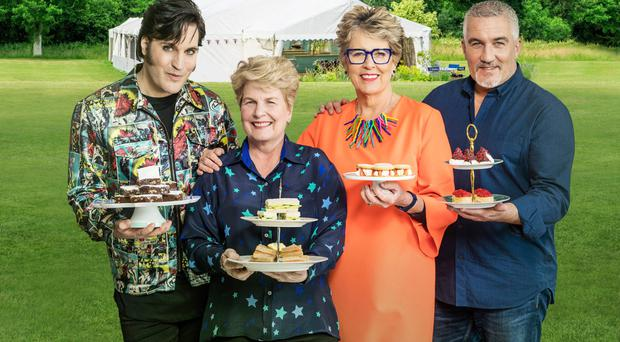 Right recipe: Noel Fielding, Sandi Toksvig, Prue Leith and Paul Hollywood