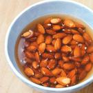 Soaking nuts prompts germination
