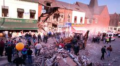 The Shankill bomb aftermath