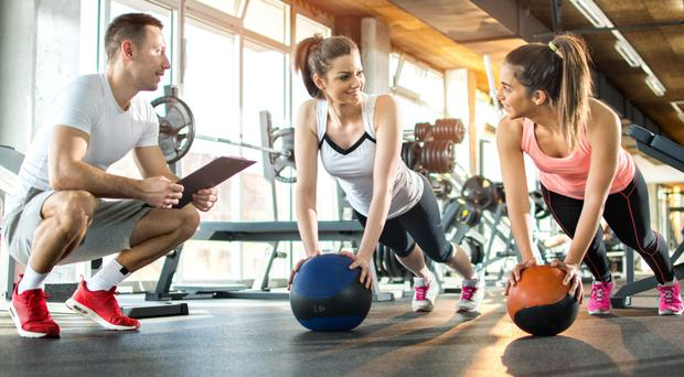 On the ball: more of us are spending our cash on fitness than ever before