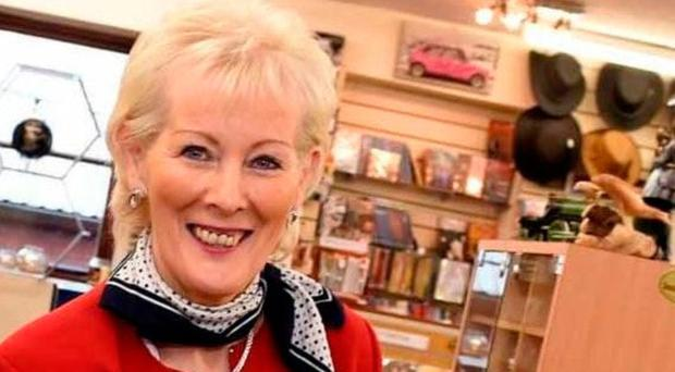 Tragic loss: Jean McCrystal, whose husband, Brendan, has died