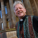Reaching out: Rev David Latimer formed a close relationship with Martin McGuinness