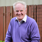 Planting ideas: the Very Rev Dr Norman Hamilton at home in Ballymena