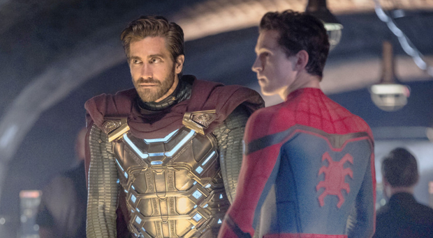 Superhero saga: Jake Gyllenhaal as Quentin Beck/Mysterio and Tom Holland as Peter Parker
