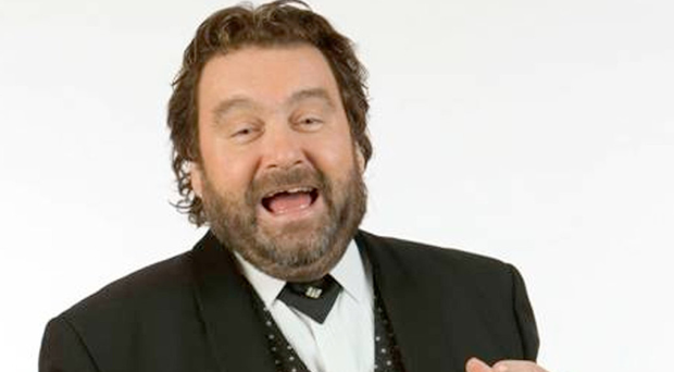 Star turn: Brendan Grace, who once performed for Frank Sinatra
