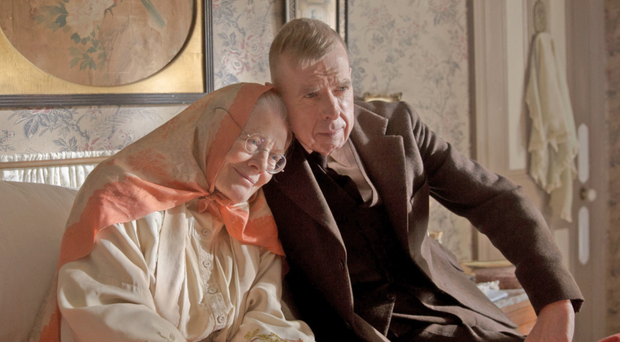Maternal strife: Timothy Spall and Vanessa Redgrave