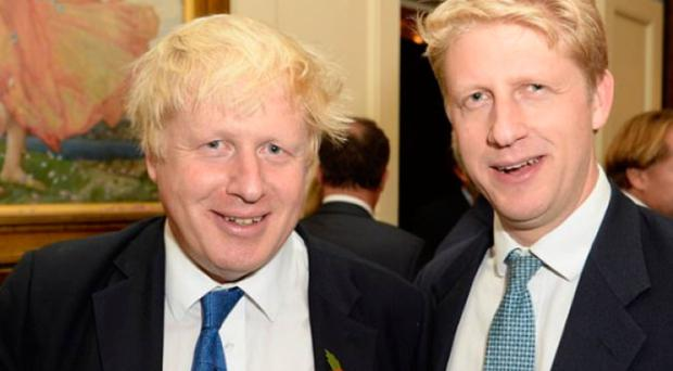Strained loyalties: Boris and brother Jo