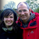 David Hulford and his daughter Michelle. The young woman was killed on a visit to Northern Ireland