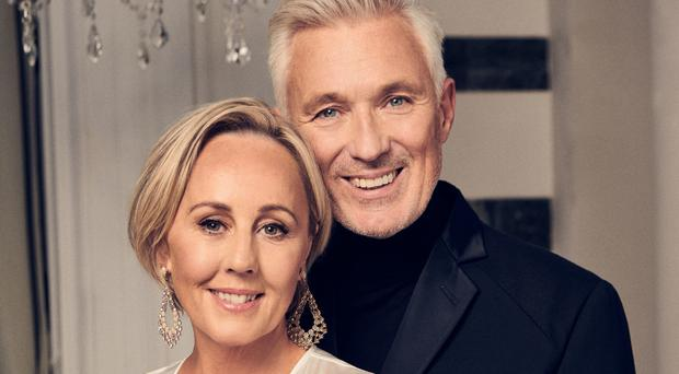 Happily married: Martin and Shirlie Kemp