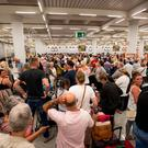 Holiday from hell: thousands of British tourists were stranded in Spain after the collapse of Thomas Cook in September