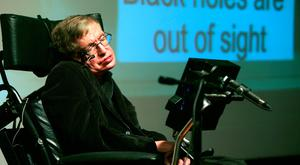 Sorely missed: Stephen Hawking showed that a beautiful mind cannot be constrained by challenging physical conditions