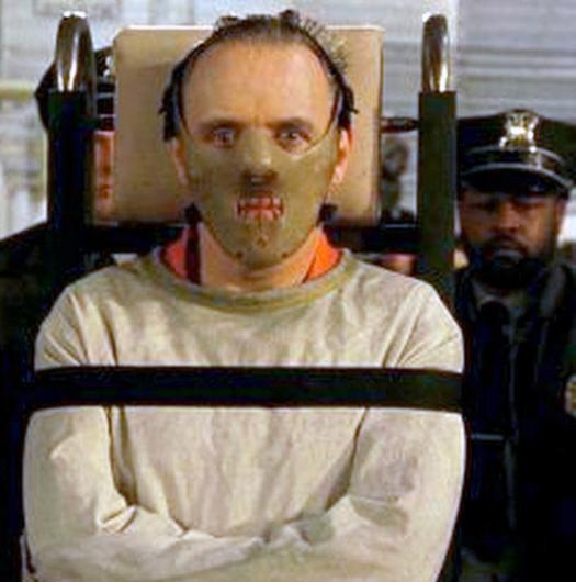 Anthony Hopkins' first Oscar in 1992 for his portrayal of Hannibal Lecter