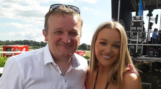 Hit family: Jimmy Buckley with daughter Claudia