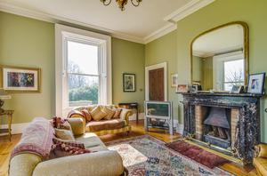 Luxury living: There are four main reception rooms at Springfield