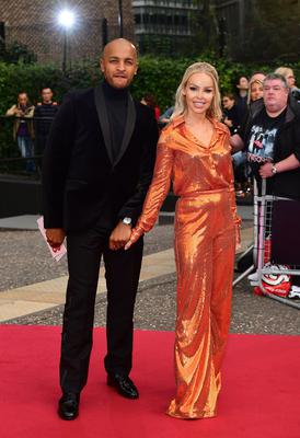 Katie Piper with her husband Richard James Sutton