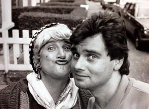 May McFettridge and Eamonn Holmes in 1988