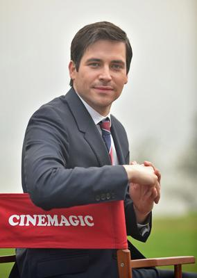 Reel life: Downton Abbey and former Corrie star Rob James-Collier, who has a role in A Christmas Star