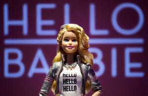 The world's first interactive doll, Hello Barbie, has been unveiled by Mattel