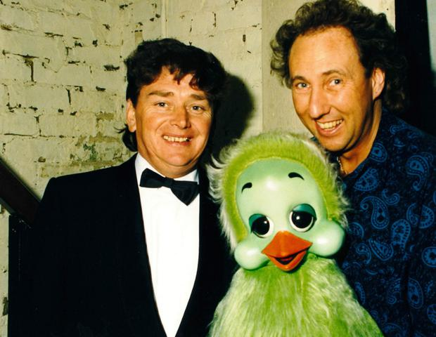 Ronnie with Keith Harris and Orville