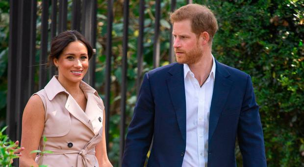 Painful admissions: the Duke and Duchess of Sussex spoke out on their tour of South Africa