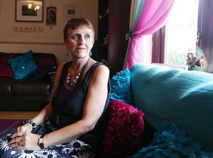 Formidable strength: ovarian cancer campaigner Una Crudden is enjoying a few days at home after a stay in the Northern Ireland Hospice