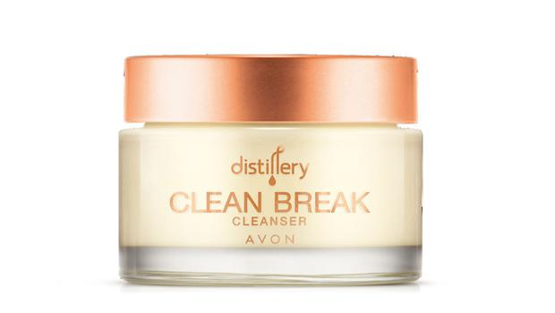 Distillery clean break cleanser, £15, Avon