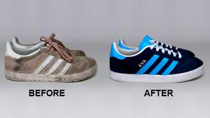 Make your old trainers sparkle.