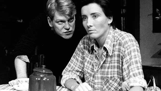 Actors Emma Thompson and Kenneth Branagh pictured in the Grand Opera House during the staging of Look Back in Anger