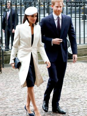 With Meghan two years later; whereas he looks a lot smarter, more debonair and distinguished these days as he steps out with his soon-to-be bride