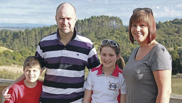 The Schnell family, Auckland