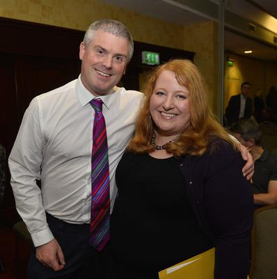 Celebration time: Naomi with husband Michael on the night she was elected as party leader
