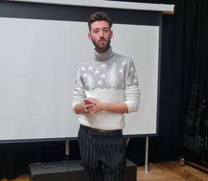 Performer and drag queen Drew Donnell now working as a drama teacher