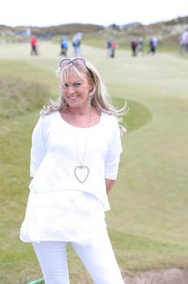 'Walking round the golf course supporting Darren gets my daily step count well over the 10k steps target'
