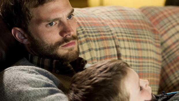 Big league: Jamie Dornan in the first series of The Fall, a role which helped him land the lead in 50 Shades opposite Dakota Johnson