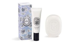 Diptyque Limited Edition Eau Rose Hand Cream, £23; Limited Edition Eau Rose Soap, £17, available from Space NK.