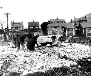 After the Blitz on the Shore Road in Belfast
