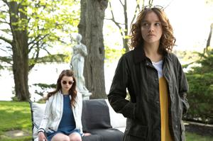 Double danger: Anya Taylor-Joy as Lily (left) and Olivia Cooke as Amanda in Thoroughbreds