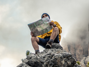 Back-up: maps are important while out and about in case a mobile phone battery dies