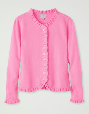 Cashmere cardigan, £160, Pure Collection