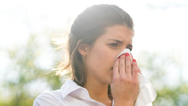 Allergic reaction: pollen brings about the dreaded symptoms of hay fever