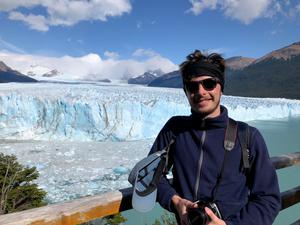 The couple enjoying the sights of Argentina before the coronavirus pandemic changed everything
