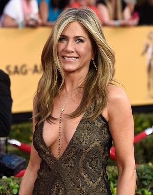Food fan: celebrities like Jennifer Aniston have taken to kale, but it can result in a bloated stomach