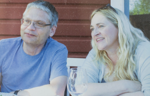 Maria with husband Martin Johnsson
