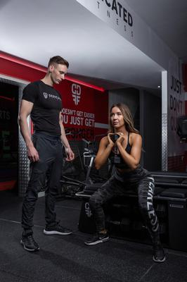 Exercise specialists: John and Danielle Neill at their city centre gym