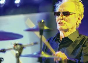 Ginger Baker played the Cathedral Quarter Arts Festival