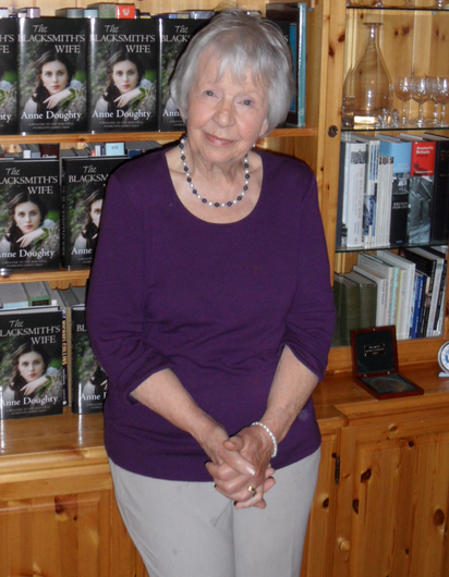 Historical tack: Anne Doughty's novels focus on a time long before the Troubles