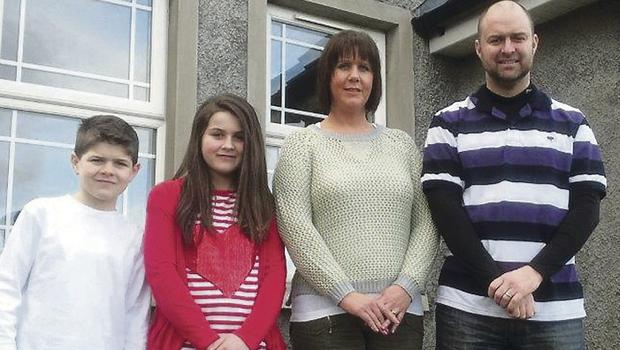 The Schnell family, Cushendall
