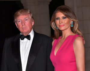 Power couple: Melania's hairdresser is effusive in his praise for the Trumps